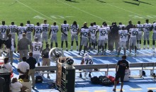 Michael Bennett Sits on Bench During Seahawks vs. Chargers National Anthem (PICS)