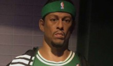 Paul Pierce's Wax Statue Doesn't Look Like Him At All
