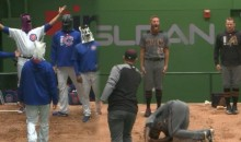 Cubs & D-Backs Bullpens Square Off In Goofy Dance-Off During Rain Delay (Video)