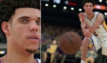 Lonzo Ball Surprisingly Won't Be Wearing Big Baller Brand Shoes in 'NBA 2K18′ (PICS)