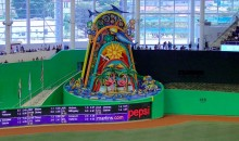 Jeter's Ownership Group Might Remove That Awesomely Gaudy Home Run Statue from Marlins Park (Pic)