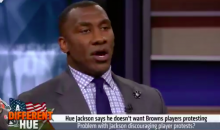 "Shannon Sharpe Ethers Hue Jackson For Saying He Hopes Centuries of Racism Gets ""Ironed Out"" (VIDEO)"