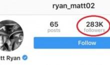 Matt Ryan Reached a Tragic Instagram Milestone Recently (Pic+Tweet)