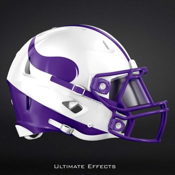 Creative designer creates awesome concept helmets for all - Dallas cowboys concept helmet ...