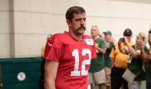Aaron Rodgers Debuts Breathtaking New Mustache at Packers Camp (Pic)