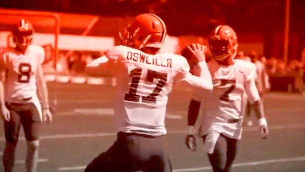 Cleveland Browns Training Camp Practice No. 10