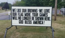Veterans Say They're Boycotting The Cleveland Browns Because They Kneeled During Anthem (VIDEO)