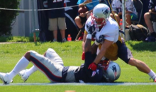 Julian Edelman, Stephon Gilmore Ejected From Patriots Practice For Fighting