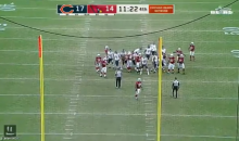 Recently Signed K Roberto Aguayo Shanks His 1st Field Goal For The Bears (VIDEO)