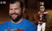 Watch as Joe Thomas Lists All 18 Cleveland Browns QBs He's Played With (VIDEO)