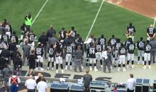 Derek Carr Says Hand on Khalil Mack's Shoulder During Anthem Wasn't A Protest