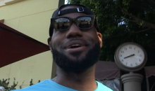 "LeBron on Rumors He's Signing With Lakers or Knicks: ""I Don't Know What You Talking About"" (VIDEO)"