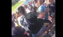Watch Fans Fight It Out In A Half-Empty Stadium During Chargers-Rams Game (VIDEO)