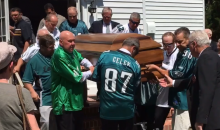 Fan Who Wanted His Philadelphia Eagles To 'Let Him Down One Last Time' Made It Happen In Epic Fashion (VIDEO)