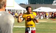 Redskins QB Kirk Cousins Sets Music Back 50 Years When He Attempts To Rap 'Hamilton' Lyrics (VIDEO)