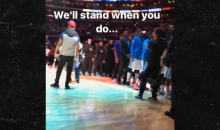 Actor Jesse Williams Sits for National Anthem at BIG3 Game After Charlottesville Attack (VIDEO)
