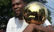 Kevin Durant on Donald Trump: 'We Don't F*ck With Him' (VIDEO)