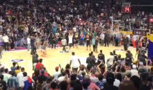 LaVar Ball Loses 4-Point Shootout To Ice Cube; Air Balls Everywhere (VIDEO)