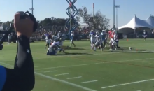 Crazy Brawl Breaks Out at Rams-Chargers Joint Practice (VIDEO)