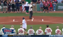 Errant First Pitch At Red Sox Game Nails Photographer Right In The Balls (VIDEO)