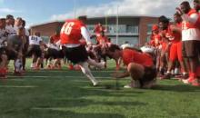 Head Coach Tells Walk-On Kicker He'll Get Full Ride If He Nails 53-Yard Field Goal (VIDEO)
