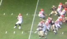 Brock Osweiler's First Play As Browns QB Is a Pass 3-Feet Behind His Receiver (VIDEO)