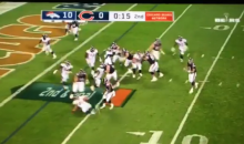 Mitchell Trubisky Throws First TD Pass To WR Victor Cruz (VIDEO)