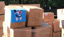 70,000 Roger Goodell Clown Towels Have Arrived For The Patriots Season Opener
