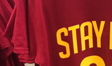 Cavs Fans Are In Full Desperation Mode As They Beg LeBron To Stay With Custom Shirts (PICS)