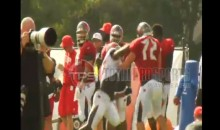 Bucs DE Noah Spence Throws A Vicious Right To The Face of Cole Gardner (VIDEO)