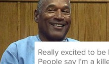 Somebody Made A Tinder Profile For O.J. Simpson When He Gets Out Of Prison (PIC)