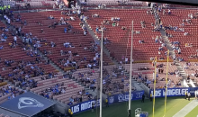 Chargers & Rams Had Embarrassingly Awful Attendance At 'Fight For LA' Preseason Matchup (VIDEO)