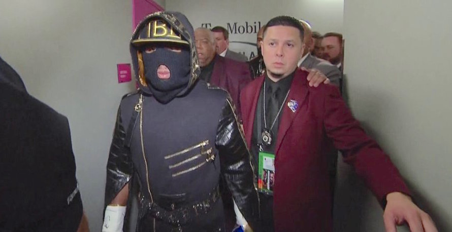 floyd mayweather fight outfit
