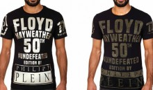 This Ugly Floyd Mayweather T-Shirt Commemorating His 50th Win Can Be Yours for the Low Low Price of $420 (Pic)