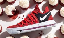 "Kevin Durant Trolls the Trolls with ""Cupcake"" Version of Nike KD 10s, the KDX Red Velvet (Pic)"