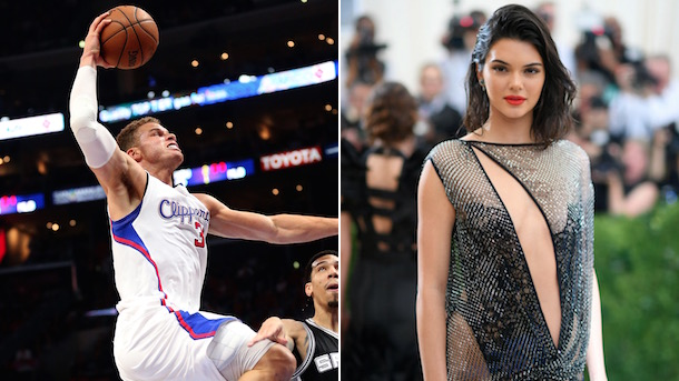 kendall jenner blake griffin hanging out