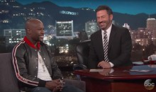Floyd Mayweather Opened Up About His Strip Club on 'Kimmel', and It Was Just Terrible (Video)