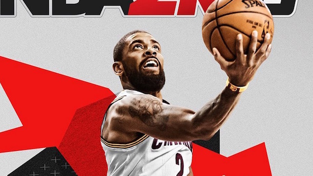 official photos ce91f 3d3be NBA 2K18 Will Release Celtics Version of Kyrie Irving Cover ...