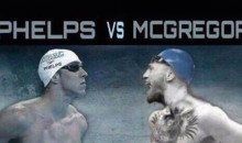 Michael Phelps Challenges Conor McGregor to a Race, Since He's Apparently So Found of Competing in Sports He's No Good At (Tweet)