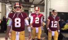 Watch Kirk Cousins Lead The Redskins QBs Through The Tunnel While Singing Whitney Houston (VIDEO)