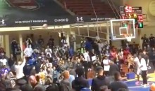 Steph Curry Goes 23-for-25 in Three-Point Contest at His Camp for Elite HS Players (Video)