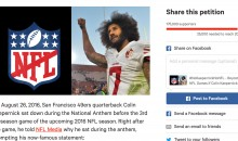 REPORT: Petition To Boycott The NFL Because Colin Kaepernick Is Unsigned Reaches 175k Signatures