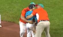Venezuela Coaches, Star Player Console Heartbroken Dominican Pitcher After Walk-Off Win at Little League World Series (Video)