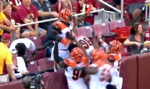 Vontaze Burfict Tests Out New NFL Celebration Policy, Dances in Stands After Pick 6 (Video)