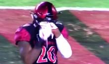 NIU Linebacker Antonio Jones-Davis Purposely Pokes SDSU Player In His Eyes After Play (VIDEO)