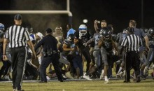 High School Football Game Ends With Insane Brawl Between Players & Coaches (VIDEO)