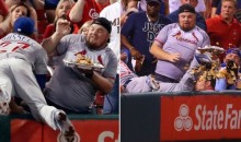 Cubs Shortstop Addison Russell Personally Delivers Replacement Nachos to Cardinals Fan (Videos)