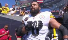 Steelers LT & Army Vet Alejandro Villanueva Stood Alone In Tunnel During National Anthem (VIDEO)