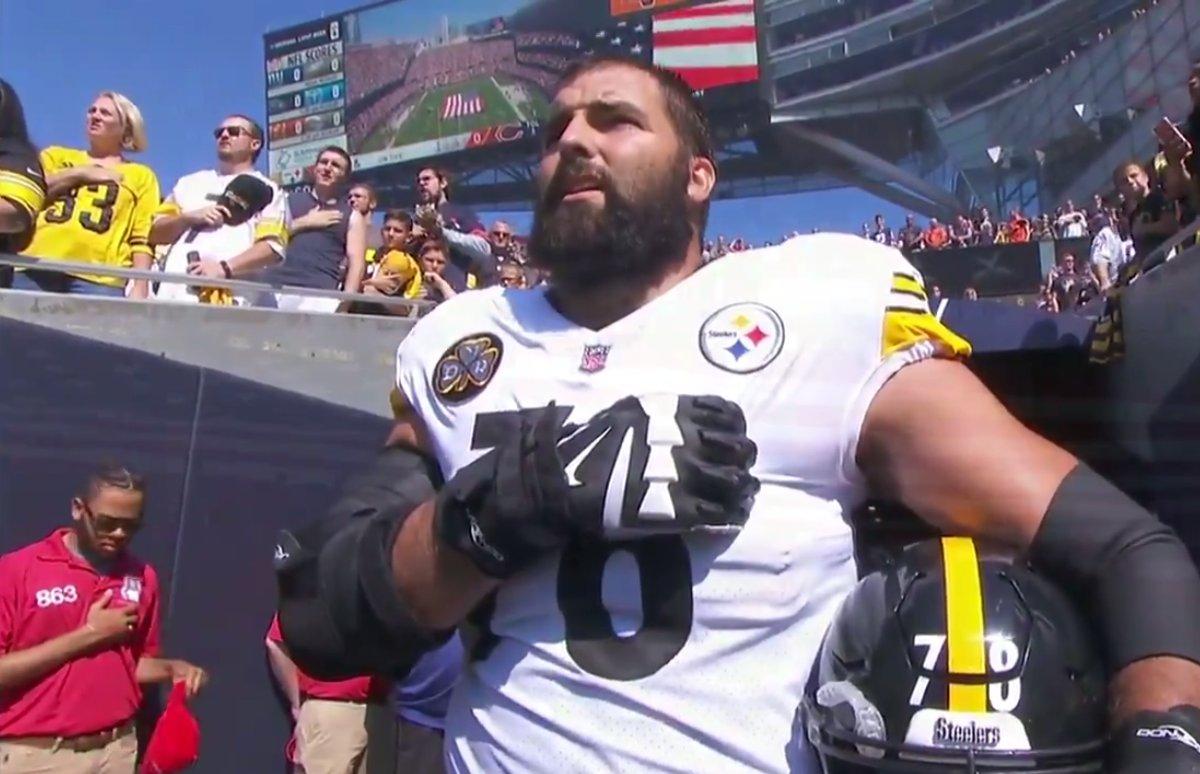 Steelers Alejandro Villanueva Says He Now Feels