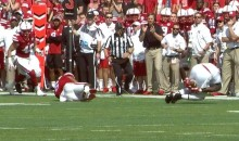 Rutgers TE Jerome Washington Made This Catch With His Butt (VIDEO)